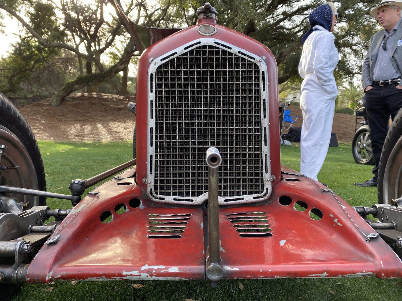 alfa romeo p3 vintage race car front