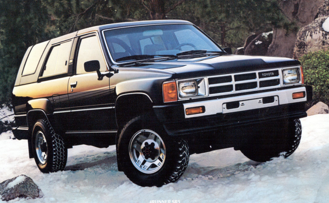 toyota first generation 4runner truck front three-quarter