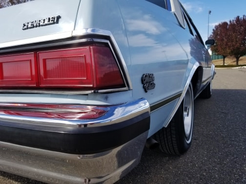 1978 classic chevrolet malibu coupe taillight