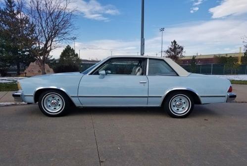1978 classic chevrolet malibu coupe side-view
