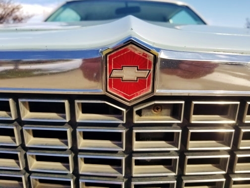 1978 classic chevrolet malibu coupe front grille