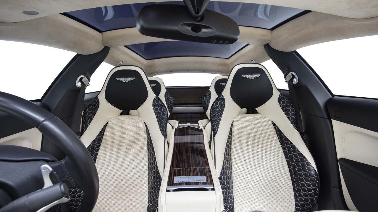 Bertone Jet V-12 special interior