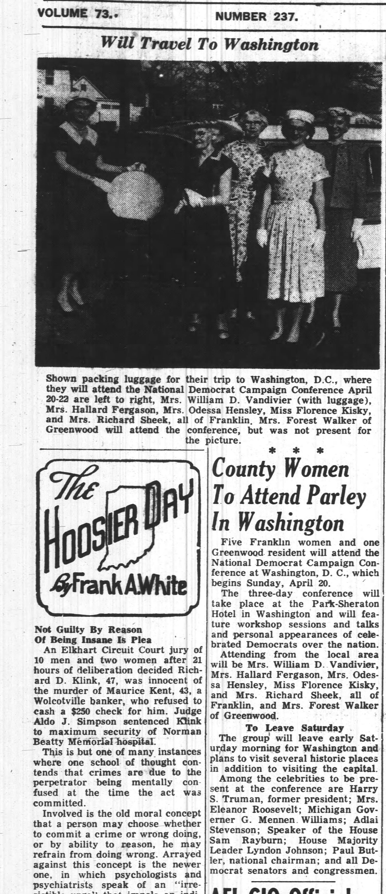 vintage newspaper clipping
