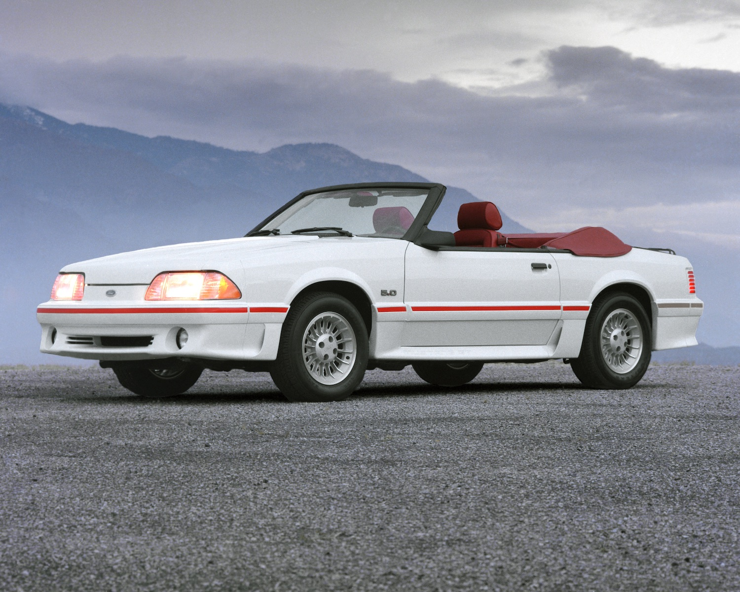 Ford Will Reprint A Window Sticker For Your 1987 89 Fox Body Mustang Hagerty Media