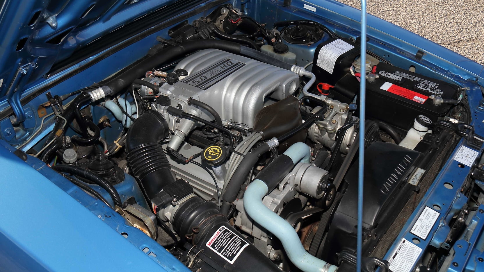 1989 Ford Mustang ssp police car engine