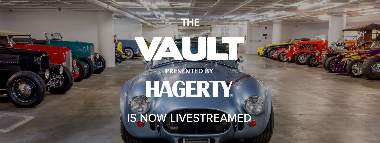 Petersen Vault livestream presented by Hagerty