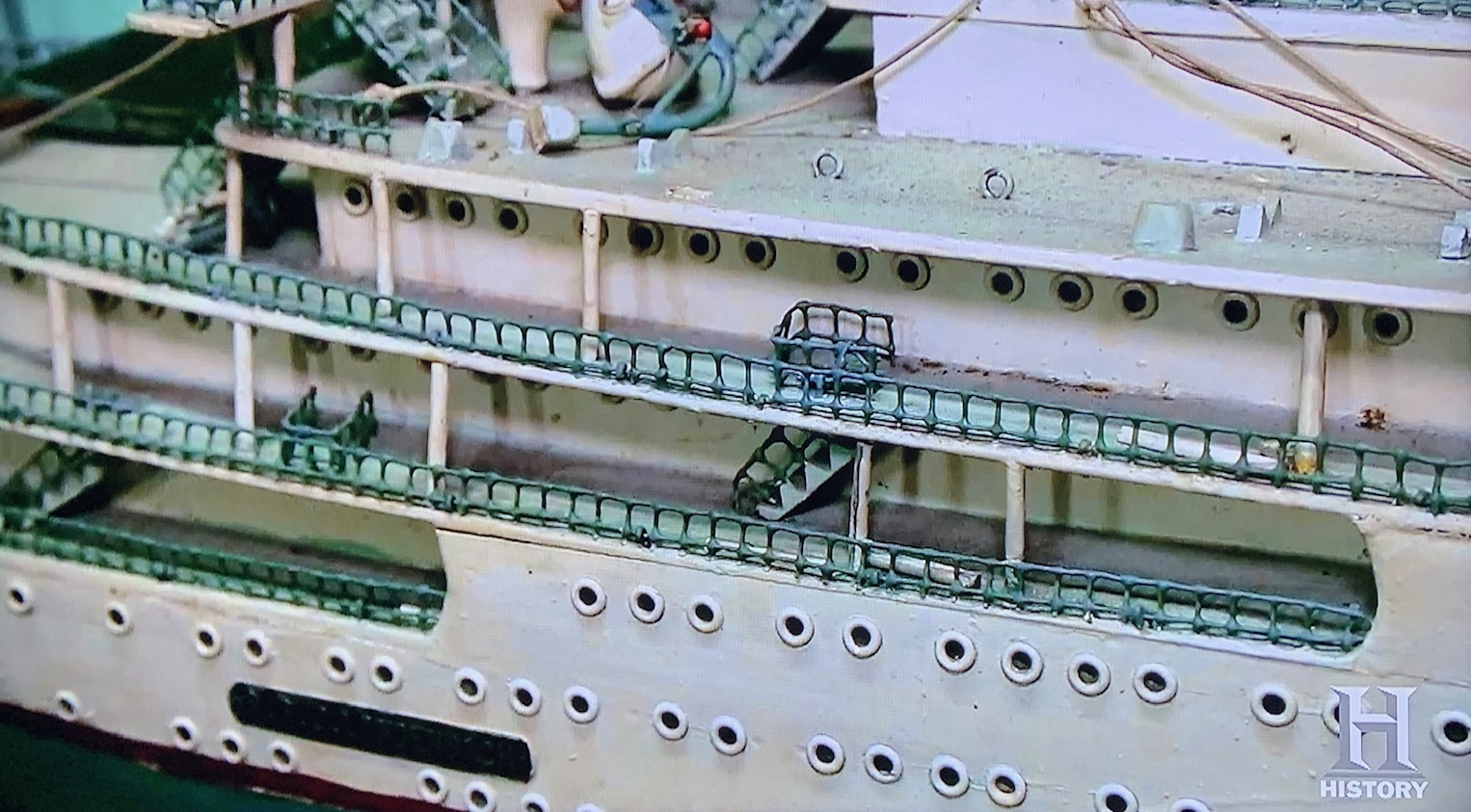 American Pickers' 6-foot scale-model ocean liner