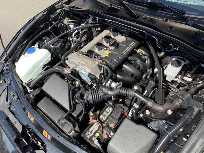 2016 Mazda MX-5 Miata Club engine