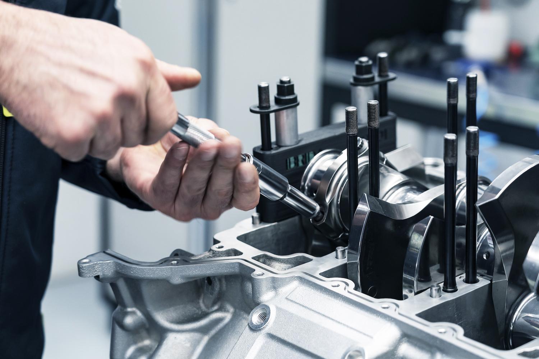 aston martin v6 engine close detail