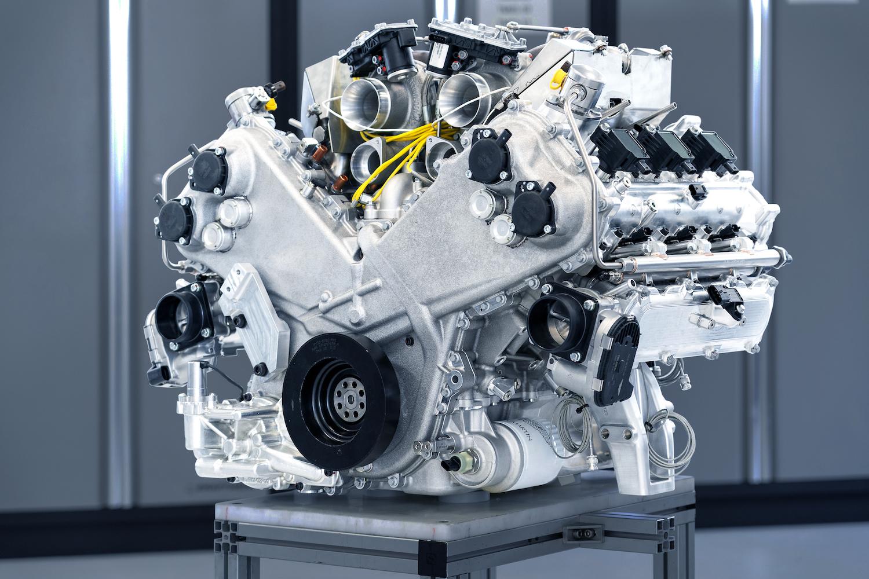 aston martin v6 engine detail