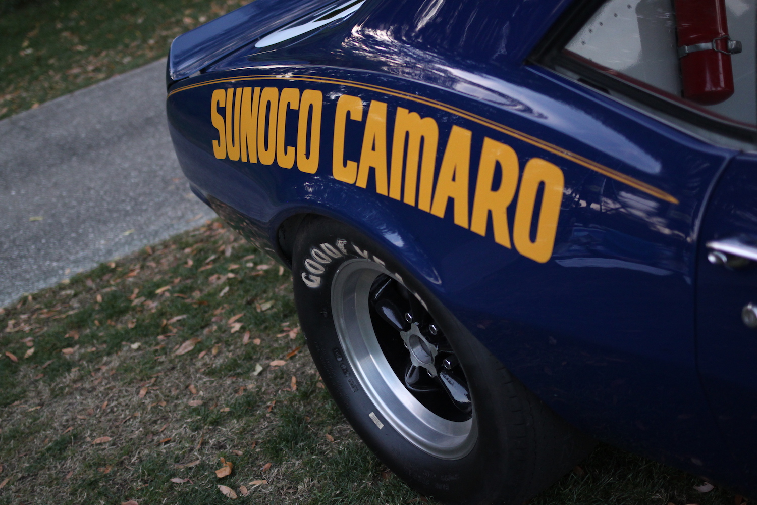 sunoco camaro penske racing rear