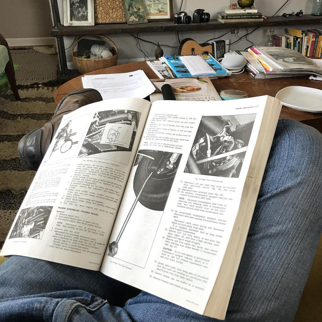 motorcycle research manual