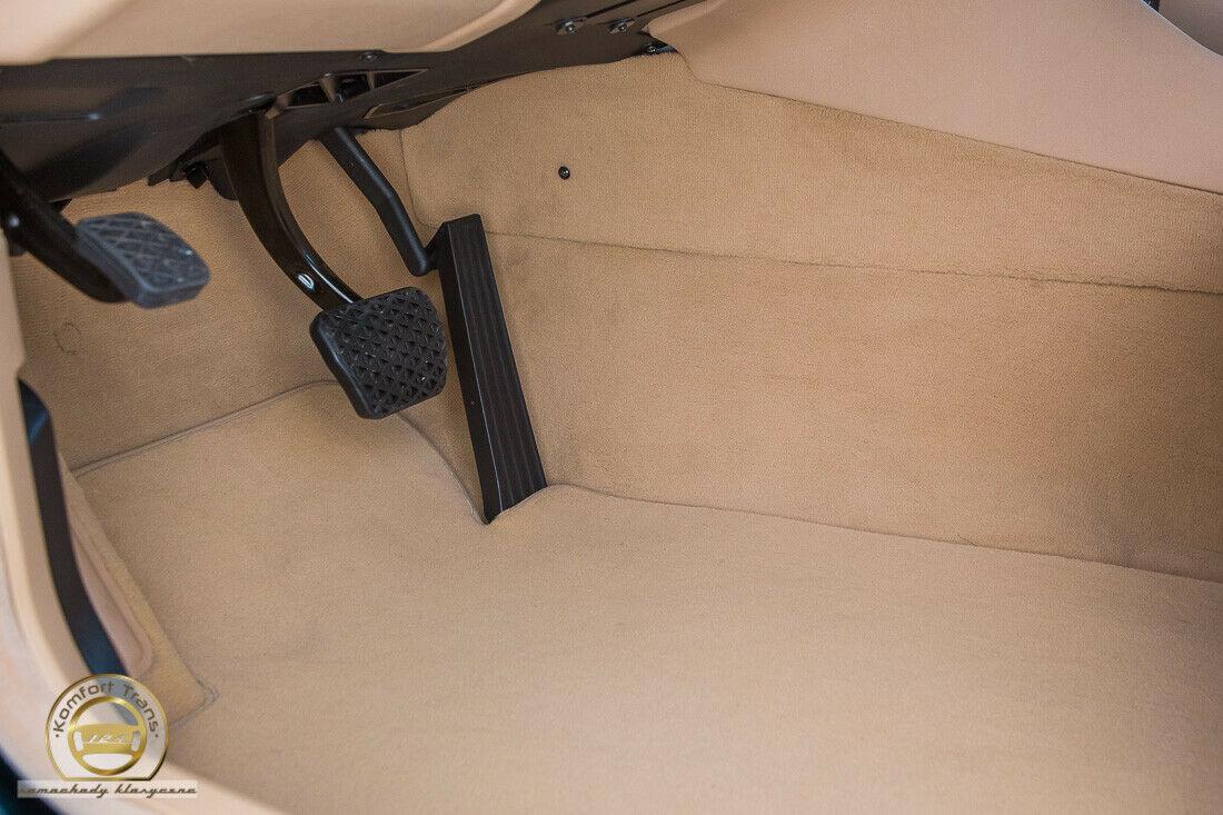 bmw sedan interior floor pan pedals and carpet