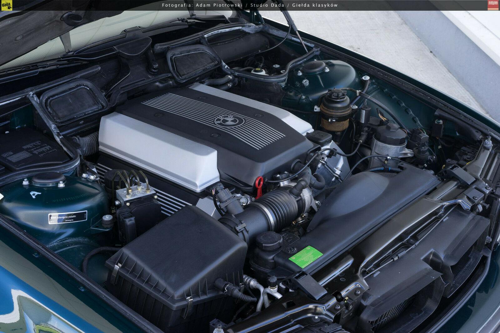 bmw sedan engine