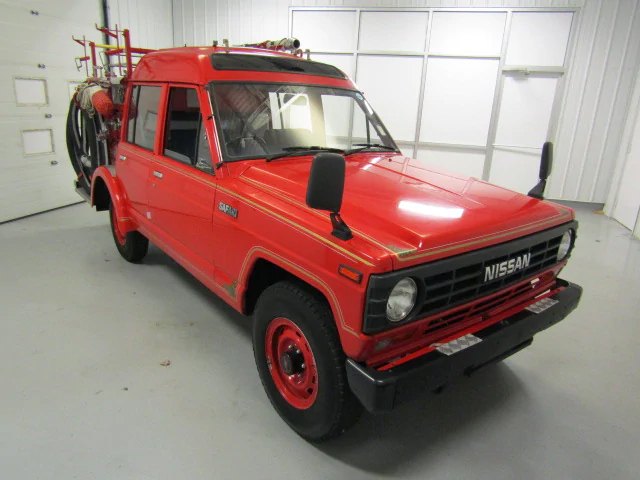 jdm firetruck front three-quarter