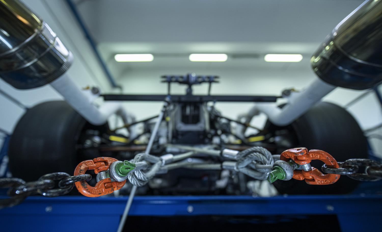 Lamborghini Squadra Corse V12 rear