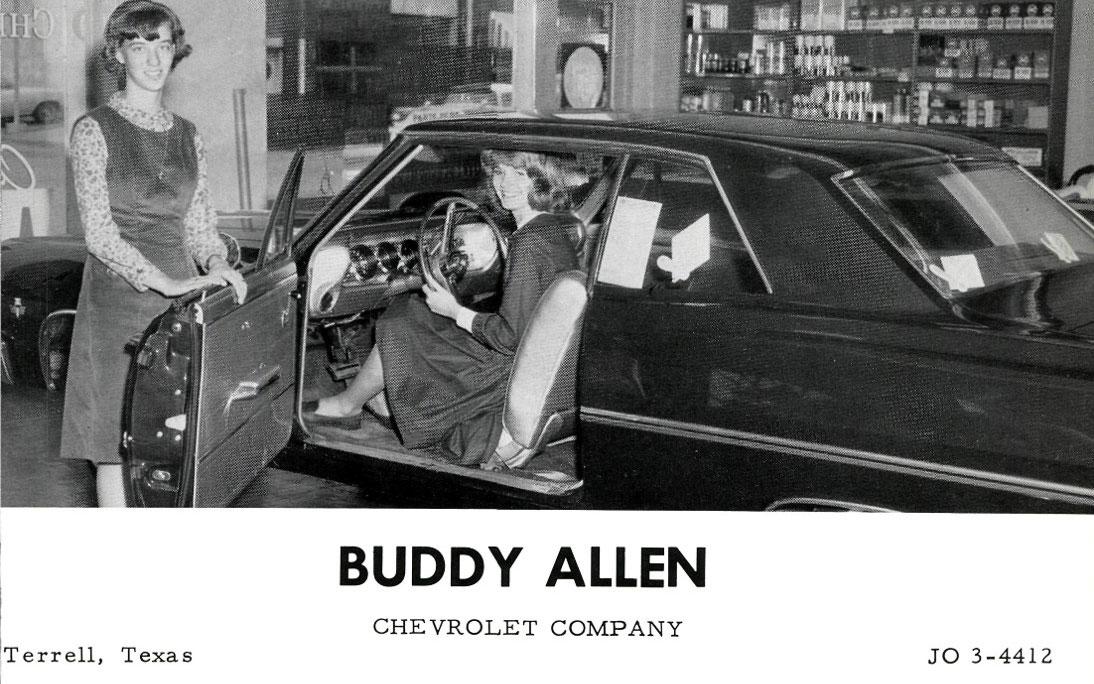 Buddy Allen Chevrolet 1965