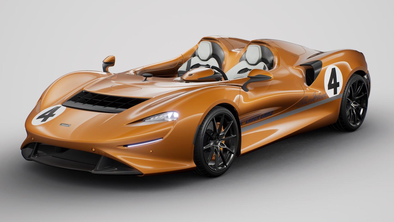 front three-quarter supercar