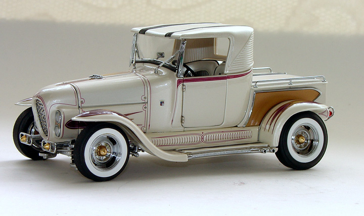 hot rod roadster coupe model