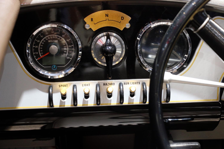 dash speedometer gauges and knobs