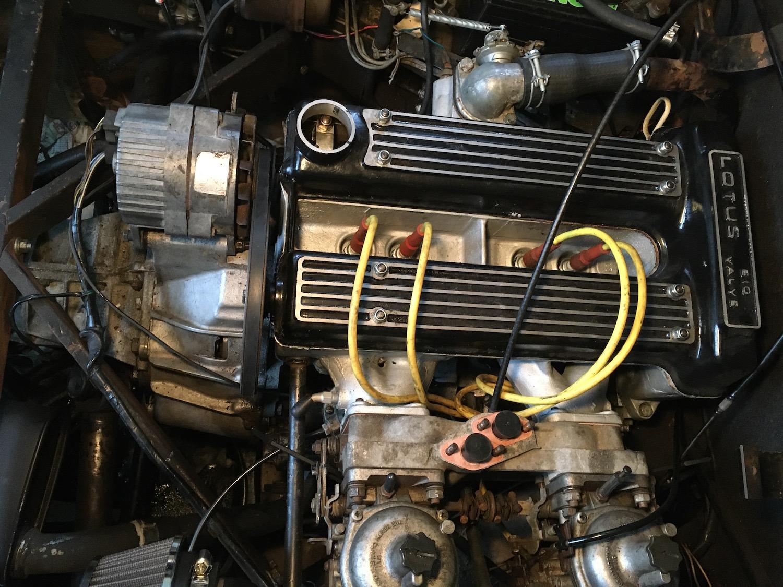 lotus engine detail