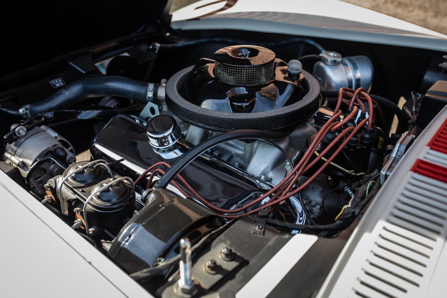 1968 Chevrolet Sunray DX L88 Yenko Racer engine