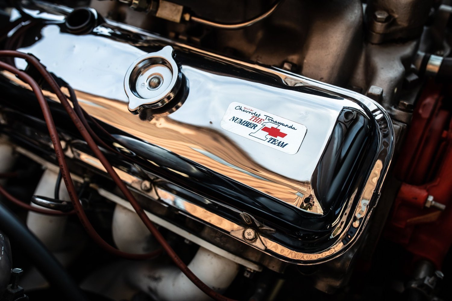 1968 Chevrolet Sunray DX L88 Yenko Racer valve covers