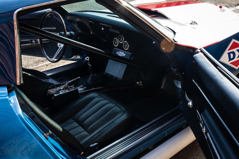 1968 Chevrolet Sunray DX L88 Yenko Racer interior