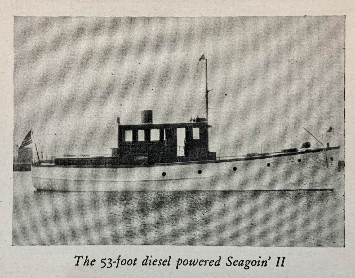 Depressed Cruise 53-foot Seagoin' II