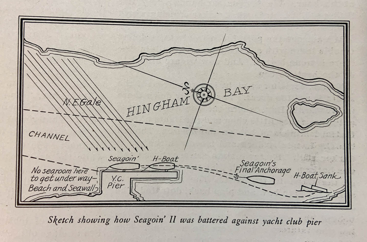 Depressed Cruise Hingham Bay map