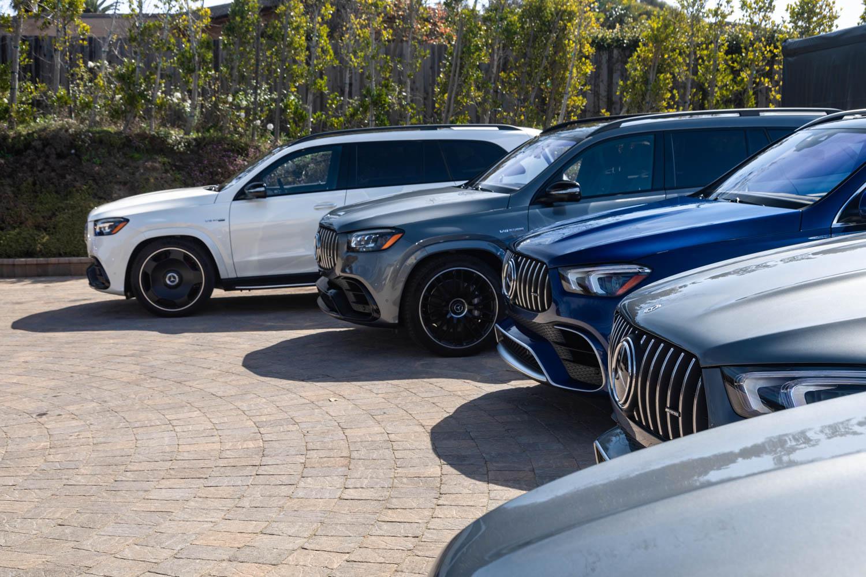 Mercedes-Benz driving event