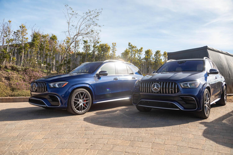 Mercedes-Benz drive event