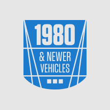 1980 or newer vehicles