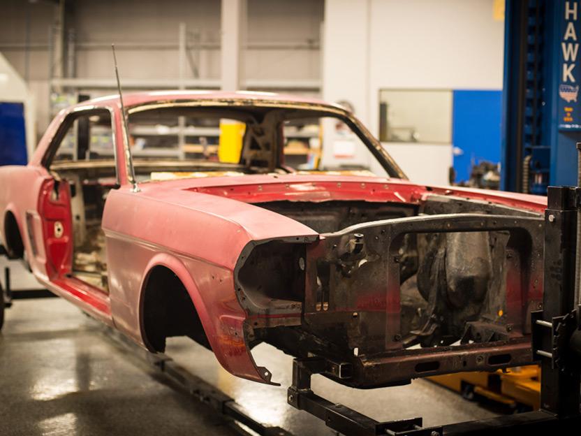Vehicle Under Construction Classic Car Restoration Insurance