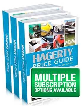 Hagerty Price Guide >> Classic Car Value Book Old Car Price Guide Hagerty